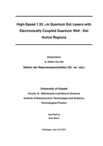 Quantum dot laser thesis computer skills to write in resume