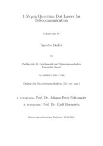 Quantum dot laser thesis academic essay editing sites gb