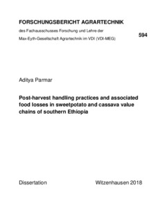 Post-harvest handling practices and associated food losses in